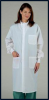 Unisex White ASEP Barrier Lab Coat - Image
