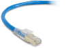 10FT Blue CAT6 250MHz Patch Cable F/UTP CM Locking Snagless -- C6PC70S-BL-10 - Image