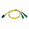 Tripp Lite - Patch cable - LC single mode (M) - SC/APC singl -- N366-02M-AP