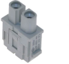 Female Insert for Rectangular Connector, 2 Pins -- CX-02-4BF
