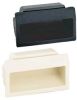 Recessed Pull,Ivory,2-3/4 In -- AT-70-I
