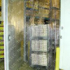 Industrial Strip Doors -- SD-8-50-UL-LC-Alum-ASG