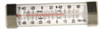 DURAC Refrigerator/Freezer Thermometer, -40/27C (-40/80F), STEEL CASING, 124MM LENGTH -- EW-90250-60