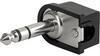 solder terminal, insulated, 3-pole, Audio Plug/Sockets, 6.3 mm -- 4833.1320 -Image