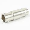 BNC Female (Jack) to BNC Female (Jack) Adapter, Nickel Plated Brass Body, High Temp, 1.2 VSWR, 75 Ohm impedance -- SM3417 - Image