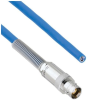 Plenum Cable Assembly TRB 3-Lug Cable Jack with Bend Relief to Blunt MIL-STD-1553 .242
