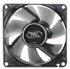 Deepcool 80mm Dark Clear 3Pin+4Pin Molex 12VDC Fan -- 70869 -- View Larger Image