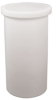 15 Gallon Polyethylene Straight Tank With Cover (Natural Color) -- P15-C