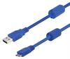 USB 3.0 Cables A/B male w/ferrites length 0.5M -- MUS3A00033-05M -- View Larger Image