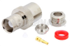 BNC Female Connector Clamp/Solder Attachment for RG59, RG62, RG71 -- PE4057 -Image
