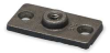 Ceiling or Wall Rod Hanger Plate,Iron -- 1RUZ2