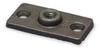 Ceiling or Wall Rod Hanger Plate,Iron -- 1RUZ2