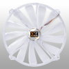 Xigmatek - CLF-F2004 200mm LED Crystal Fan - White -- 70785 -- View Larger Image