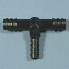 Black HDPE Tees -- 62063 - Image