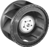 DC Centrifugal Compact Fan -- RER 101-36/14 NHH -Image