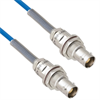 Plenum Cable Assembly TRB Non-Insulated Bulk Head 3-Lug Cable Jack to Jack with Bend Reliefs MIL-STD-1553 .150
