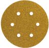 Norton Gold Reserve AO Fine Grit Paper H&L Vacuum Disc -- 66623334791 -Image