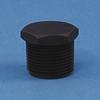 Black Nylon Threaded Plug -- 64720
