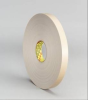 3M 4492 White Foam Mounting Tape - 2 in Width x 72 yd Length - 1/32 in Thick - 43108 -- 021200-43108 -- View Larger Image