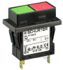 Circuit Breaker for Equipment thermal, 2 pole, Push button actuation -- TA45-2P