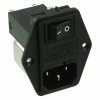 Power Entry Connectors - Inlets, Outlets, Modules -- Q443-ND -Image
