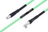 Temperature Conditioned SMA Male to SMA Male Right Angle Low Loss Cable 48 Inch Length Using PE-P300LL Coax -- PE3M0226-48 -Image