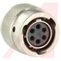 connector,metal circular,str plug,for 6size 20 socket cont,ip68/ip69k sealing -- 70129552