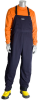 PIP 9100-75001 Blue 2XL Ultrasoft Welding & Heat-Resistant Overall - Fits 52 to 54 in Chest - 32 in Inseam - 616314-28578 -- 616314-28578 - Image