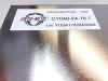 Magnetic Shielding Stress Annealed Sheet - CRYO-NETIC® -- CY040-24-78.7 -Image
