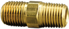 Fisnar 560716 Brass Nipple 0.25 in NPT Male -- 560716 -- View Larger Image