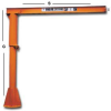 PILLAR BASE MOUNTED JIB CRANE -- H350-10-1010