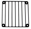 Barred Window Laser Cut 120mm Fan Grill - Black -- 70995