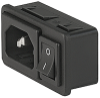 IEC Appliance Inlet C14 -- 6010-K Series