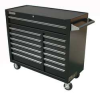 Rolling Cabinet,42 x 18 x39 In,13 Dr,Blk -- 13H109
