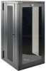 SmartRack 26U Low-Profile Switch-Depth Wall-Mount Rack Enclosure Cabinet with Clear Acrylic Window, Hinged Back -- SRW26USG -- View Larger Image