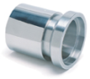 Page Series Industrial Hydraulic Crimp Fitting – SS Sanitary Female I-Line -- 48-48FIL-S - Image