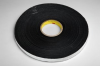 3M 4516 Black Single Sided Foam Tape - 3/4 in Width x 36 yd Length - 1/16 in Thick - 03308 -- 021200-03308 -- View Larger Image