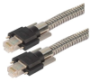 Category 5e GigE Double Shielded Armored Ethernet Cable, GigE / GigE, 5M -- T5A00004-5M -Image