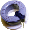 CSL Series miniature open-loop current sensor, 100 A sensed current, sink or source output, through-hole, operates on ac or dc current, bottom mount -- CSLT6B100 - Image