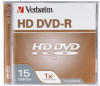 Verbatim 1-Pack HD DVD-R 15GB 1X Branded in Jewel Case -- 95359