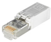 Passive Industrial Ethernet IP67 Plug-In Connector Inserts RJ45 -- IE-PI-RJ45-TH -- View Larger Image