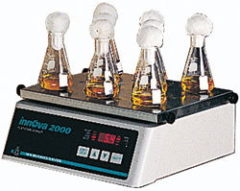 Benchtop open air platform shaker for use with interchangeable platforms, clamps, and test tubes