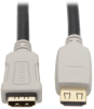 High-Speed HDMI 2.0b Extension Cable, Gripping Connector - 4K Ethernet, 60 Hz, 4:4:4, M/F, 3 ft. (1 m) -- P569-003-2B-MF - Image