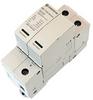 AC Surge Protector SPD I2R-T125 DIN-Rail 230 Vac Single-Phase + CM MOV, GDT 100 kA, IEC 61643-11 Class I+II, CE, RoHS -- I2R-T125-1P230 -Image