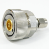 Precision 3.5mm Male (Plug) to 7mm Adapter, Passivated Stainless Steel Body, 1.15 VSWR -- SM3358