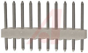 .100 STRAIGHT HEADER;10 CIRCUITS -- 70190849 - Image
