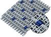 """Roller Top 2"""" Straight Modular Belt -- HabasitLINK® M5032 -- View Larger Image"""