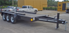 18000 lb Heavy Duty Trailer with Internal Fuel Tank -- 190005