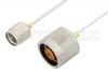 SMA Male to N Male Cable 48 Inch Length Using PE-SR047FL Coax, RoHS -- PE34268LF-48 -Image