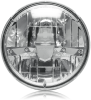 """Maxxima MHL-07HILO 7"""" Round Dual LED Headlight, 12/24V, H4 3 Blade -- 47876 -- View Larger Image"""
